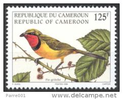 Cameroun Cameroon 1998 Oiseau Pie-grièche Lanius Bird Yv 893 Mi 1233 Mint Stamp - Kameroen (1960-...)
