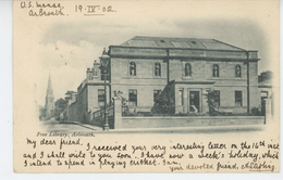 ROYAUME UNI - SCOTLAND - ARBROATH - Free Library (1902) - Angus