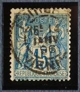 Sage N°101.Type II Ob.(CAD) POITIERS 14 Janv 1896.