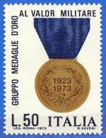 Italia. Italy. 1973 (**) Mi 1432. Medalla Al Valor Militar. Medal Of Military Valour