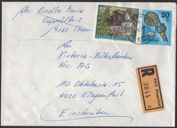 JP319  Austria 1994  R-Brief Klagenfurt - Mi.2123 + Mi.2109