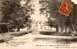 Parthenay Ou St Maixent Chateau De Chilleau - Parthenay