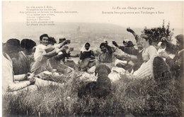 SENS - La Vie Aux Champs En Bourgogne - Beuverie Bourguignone Aux Vendanges      (97074) - Sens