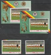 AJMAN - MNH - Sport  Soccer - World  Cup - Perf. + Imperf.