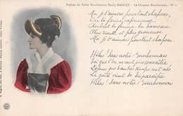 71 - Bourbon-Lancy - Poésies Du Poète Bourbonnais Henry Baguet - Le Chapeau Bourbonnais - Francia