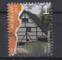 Nederland - Mooi Nederland 2017 - Beek- En Rivierdalen - Geul - Vakwerkhuizen - MNH - Monumenten