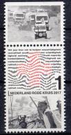 Nederland - 22 Mei 2017  - 150 Jaar Rode Kruis In Nederland - MNH - Zegel 1 - Tab Boven