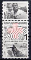 Nederland - 22 Mei 2017  - 150 Jaar Rode Kruis In Nederland - MNH - Zegel 2 - Tab Boven