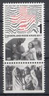 Nederland - 22 Mei 2017  - 150 Jaar Rode Kruis In Nederland - MNH - Zegel 6 -  Tab Onder