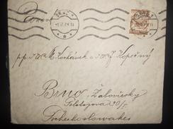 Autriche , Lettre De Graz 1929 Pour Brno