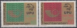LIECHTENSTEIN 607-608,unused