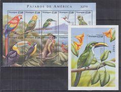 N41. Nicaragua - MNH - Animals - Birds