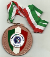 Italia - Medaglia Coppa Italia CNDA, - Italia