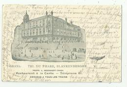 Blankenberge  *  Grand Hotel Du Phare (Prop.: Beernaert - Traen)