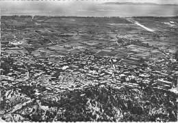 83 - HYERES LES PALMIERS : Vue Aériernne - La Colline Du Chateau - CPSM Dentelée Noir Blanc Grand Format 1951 -  Var - Hyeres