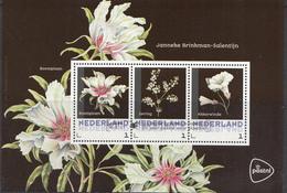Nederland - Postset Janneke Brinkman - Bloemen - Boompioen/Kerstroos/Narcis - Stempel Leiden 16-05-'17 -3 Kaarten - Netherlands
