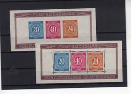 SBZ Block 12 A+B  ** Postfrisch   (  N  6964 )