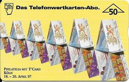 702L Philatelia Mit T'Card Expo 1997, Köln - Oesterreich