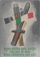 WWII Cartolina Franchigia Propaganda 1943 PM 110 - Tribunale Militare Di Guerra Slovenia Dalmazia - Rarità - Occupation 2ème Guerre Mond. (Italie)