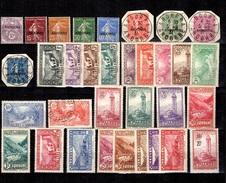 Andorre Petite Collection Neufs * Et Oblitérés 1931/1933. Bonnes Valeurs. B/TB. A Saisir!