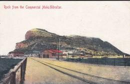 GIBRALTAR---rock From The Commercial Mole.gibraltar--voir 2 Scans - Gibraltar