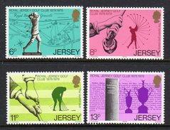 GB JERSEY - 1978 GOLF CLUB ANNIVERSARY SET (4V) SG 183-186 FINE MNH **