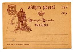 Entero Postal  De Portugal.-