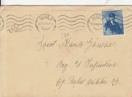 KING CHARLES 2ND, STAMPS ON COVER, 1940, ROMANIA