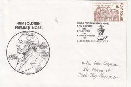 NOBEL PRIZE LAUREATS, LIPMANN, LYNEN, PRUSINER, SPECIAL COVER, 1999, ROMANIA