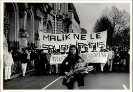 37 - TOURS - Manifestation étudiante - Malik  - 1986 - Tours