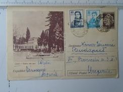 D150181 Romania  -Postal Stationery - CLUJ Vedere Din Parc -  1960