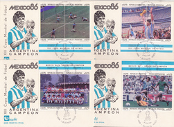 FOOTBALL  ARGENTINE  COUPE DU MONDE 1986