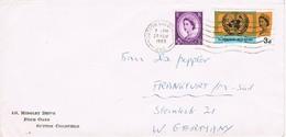 24465. Carta SUTTON COLDFIELD (england) 1965 To Germany - 1952-.... (Elizabeth II)