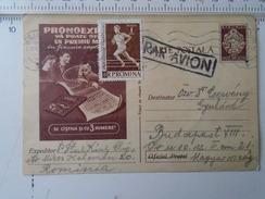 D150183 Romania  -Postal Stationery -Pronoexpress- Cluj - Par Avion - 1960