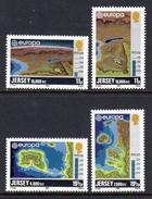 GB JERSEY - 1982 EUROPA HISTORIC EVENTS SET (4V) SG 289-292 FINE MNH **