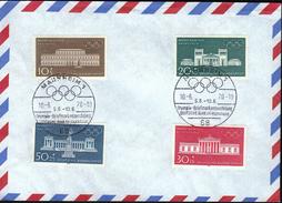 Germany Mannheim 1970 / Olympic Philatelic Exhibition Deutsche Bank AG / Olympic Games Munich