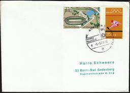 Germany Munich 1972 / Olympic Games Munich 1972 / Olympic Philately / Stadium, Athletics