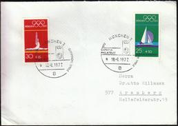 Germany Munich 1972 / Olympic Games Munich 1972 / Olympic Philately / Gymnastics, Sailing