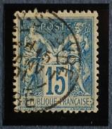 Sage N°90.Type II Ob.(CAD) RILLY-SAINTE-SYRE 15 Janv 1901.