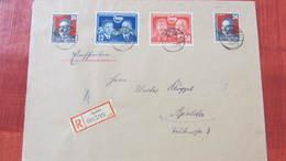 DDR: Orts-R-Brief Mit Kompl. Ausg. DSF Und Liebknecht (2) Aus Apolda Vom 31.1.53 -Letzttag Gültigkeit Der Mken Knr:297ua