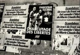 95 - SARCELLES - Affiches Politiques - Sarcelles