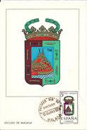 Spain Post Card FDC ? 10-8-1964 Malaga - 1961-70 Lettres