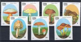 CUBA - CHAMPIGNONS - N°2823/29  **  (1988) - Paddestoelen