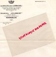 86 - MONTMORILLON- LE GROUPE DES URBAINE- ASSURANCES MARCEL JOUBERT- 2 AVENUE REPUBLIQUE - Bank & Insurance