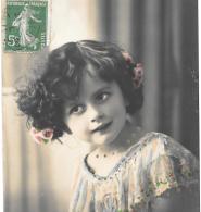 CPA..  ENFANT...ARTISTIQUE...ESPIEGLE ....  TBE ....1913....SCANS... - Portraits