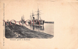 Egypte - Steamer Garée à Kantara