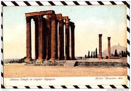 Y653 Grece Athenes Temple De Jupiter Olympien 2 SCANS - Grèce