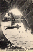 """- BELABRE -1926- """"l´Anglin"""" Sous Le Pont Neuf - Other Municipalities"""