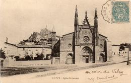 - LE PUY - 1904 -  Eglise St-Laurent - Le Puy En Velay