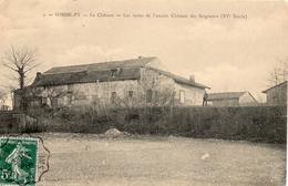 - SOMMEPY - 1909 - Les Restes De L'ancien Château Des Seigneurs - France